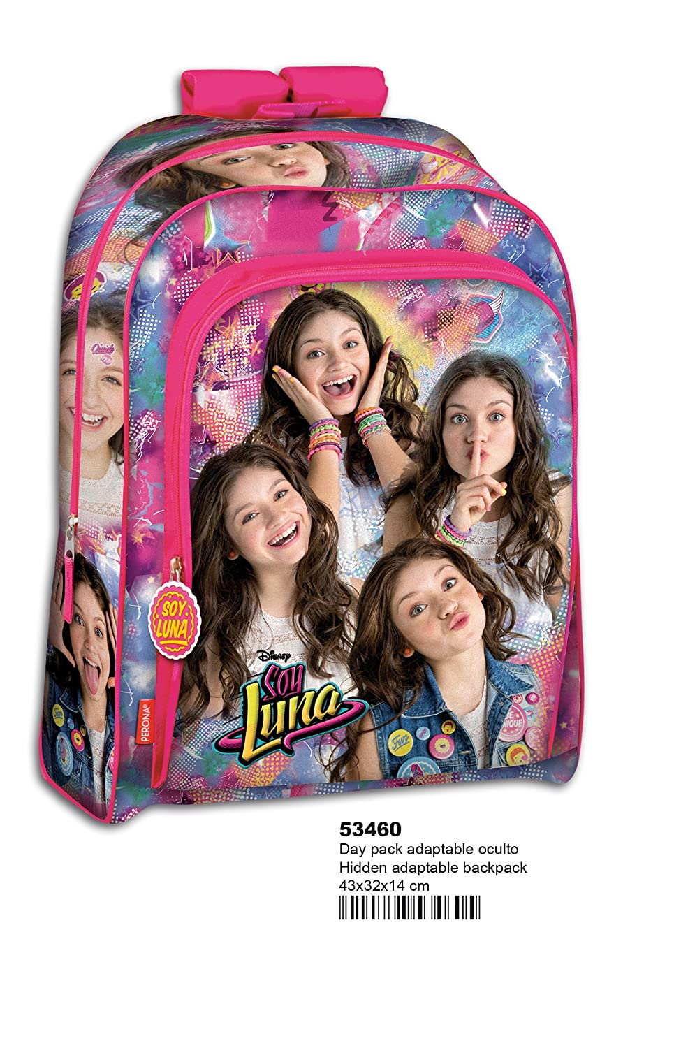 Amazon.com | Backpack Set Soy Luna Disney Bundle School Bag Pencilcase Unique | Kids Backpacks