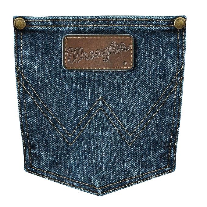 f26bd923 Wrangler Men's Premium Performance Advanced Comfort Cowboy Cut Slim Fit  Jeans at Amazon Men's Clothing store: