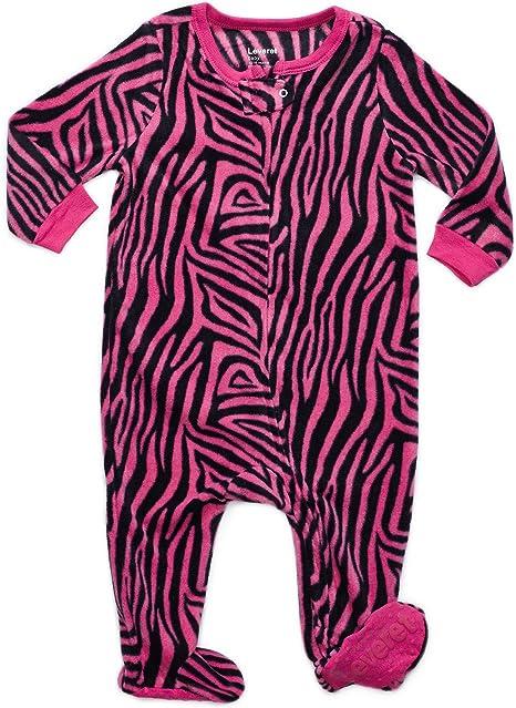 Leveret Fleece Baby Boys Girls Footed Pajamas Sleeper Kids /& Toddler Pajamas 3 Months-5 Toddler