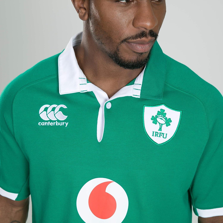 Canterbury Irlanda 19/20 Vapodri - Camiseta de Rugby clásica para ...