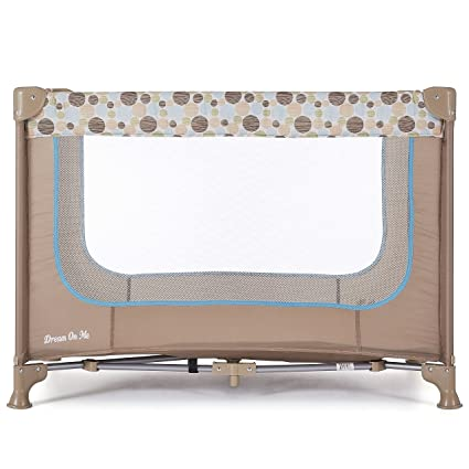 Other Baby Dream On Me Zodiak Portable Playard In Coffee/blue
