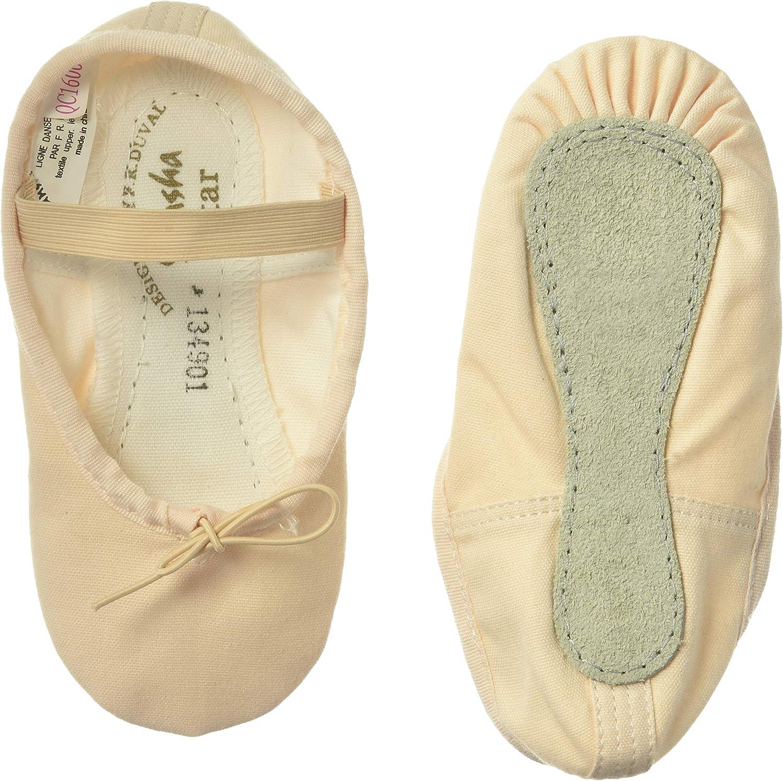 15C Sansha Kids Split-Sole Ballet Shoes