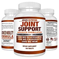 Glucosamine Chondroitin Turmeric MSM Boswellia - Joint Support Supplement for Relief...