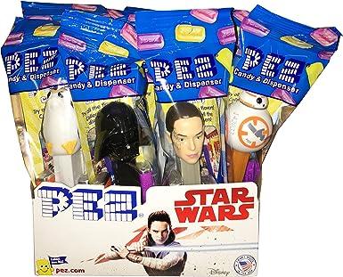 Star Wars PEZ Candy Dispensers: Pack of 12: Amazon.es: Alimentación y bebidas
