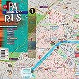 Paris Mappa - Laminata Strade, Musei, Metro, Bistrot - TerraMaps