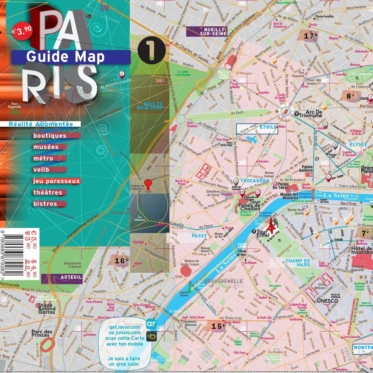 Cartina Parigi Con Monumenti E Metro.Amazon It Paris Mappa Laminata Strade Musei Metro Bistrot Terramaps Alberto Michieli Anuradha Mohan Bruna Merlo Libri