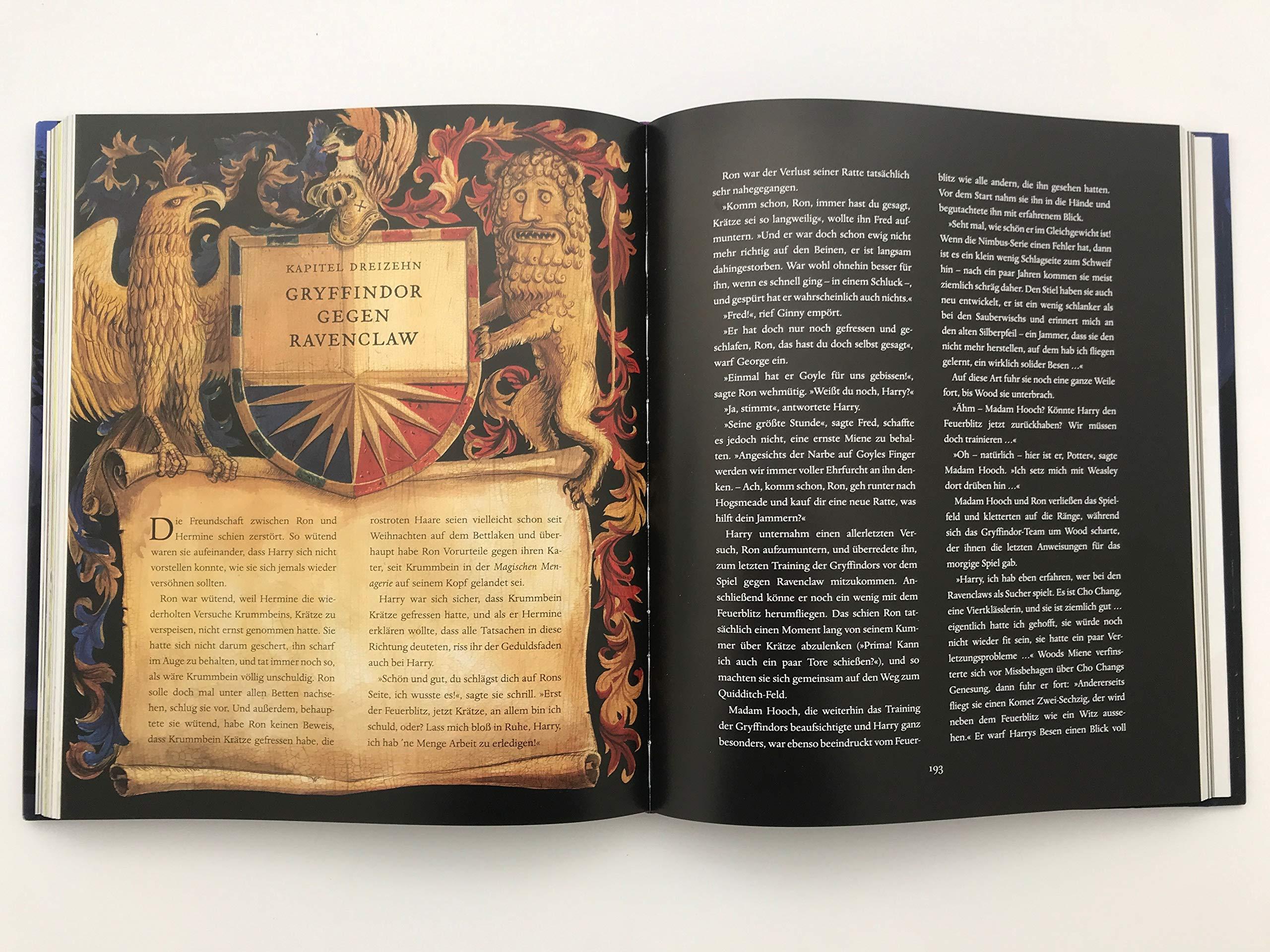 Harry Potter Und Der Gefangene Von Askaban Farbig Illustrierte