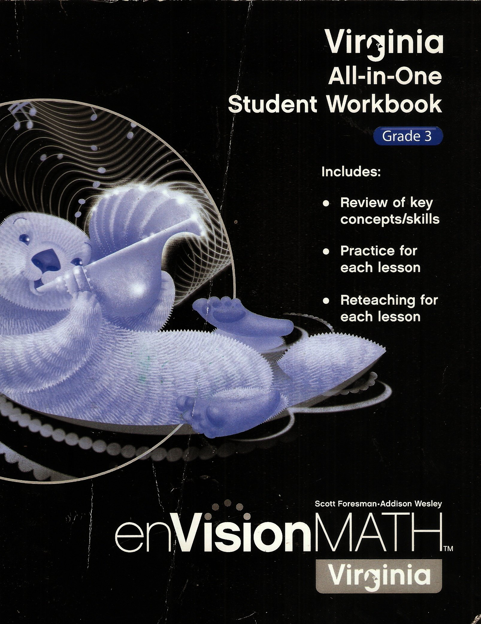 Virginia All-In-One Student Workbook Grade 3; enVision Math: Scott ...