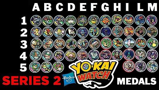 46 opinioni per Medaglia a Scelta Per Orologio Yo-Kai Watch- MEDIAMENTE COMUNI- serie 2 ( 1 solo