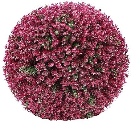 Graskugel Buchsbaum Kunstpflanze Buchsbaumkugel Kunststoff Buchskugel Deko
