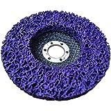 Rostio CSD Scheibe Lila | Purple | Winkelschleifer | Reinigungsscheibe 125 x 13 x 22,2 mm | Flex |