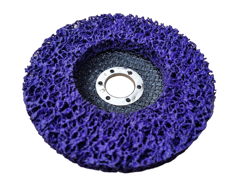 Rostio CSD Scheibe Lila | Purple | Winkelschleifer | Reinigungsscheibe 125 x 13 x 22, 2 mm | Flex |