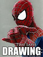 Clip: Time Lapse Drawing: The Amazing Spider-Man
