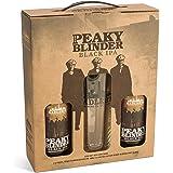 Peaky Blinder Black IPA Gift Pack Bottles and Pint Glass, 500 ml, Pack of 2