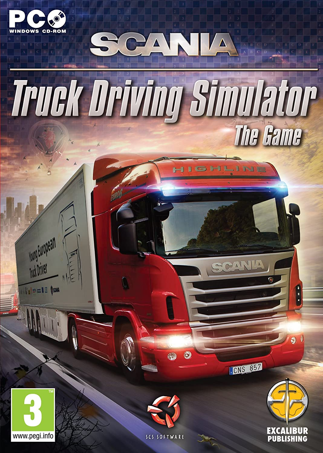Amazon Com Scania Truck Driving Simulator Pc Video Games