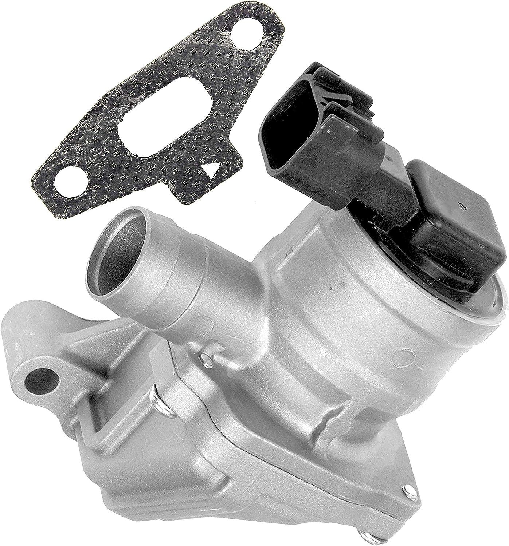 APDTY 022261 Secondary Air Injection Check EGR Valve Fits Select 2006-2009 Buick Rainier Chevrolet Trailblazer GMC Envoy Saab 9-7x (Replaces 214-2151, 12619110, 12583486)