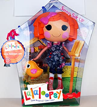 Lalaloopsy Sunny Side Up With Chick 13 Doll Includes Poster