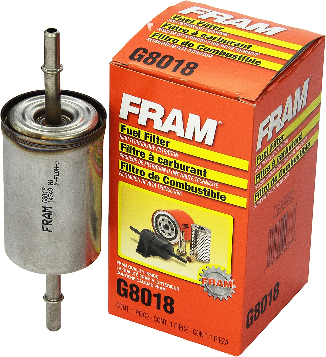 Amazon.com: FRAM G8018 In-Line Fuel Filter: AutomotiveAmazon.com