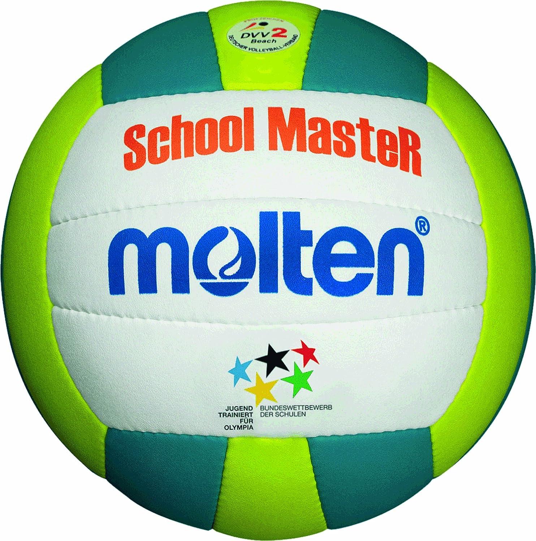 Molten mBVSM-ballon de beach-volley-bleu/blanc/jaune taille 5 ...