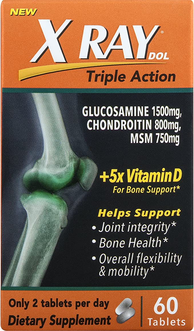 Amazon.com: XRay Triple Action Joint Health Supplement with ...