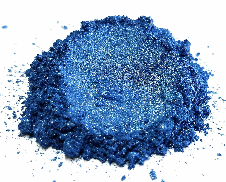 "Eye Candy Mica Powder Pigment ""Ocean Blue"" (50g) Multipurpose DIY Arts and Crafts Additive | Natural Bath Bombs, Resin, Paint, Epoxy, Soap, Nail Polish, Lip Balm Eye Candy Customz ECC-01043A"