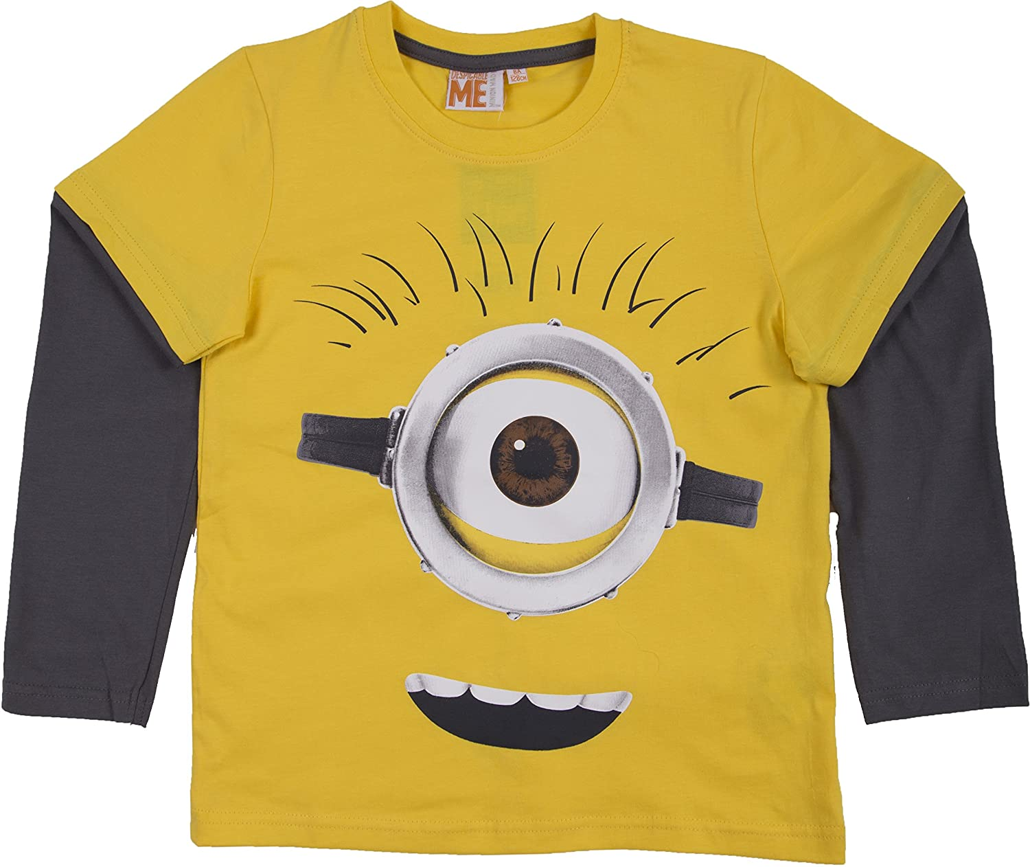 Despicable Me Minions Boys Long Sleeve T-Shirt By BestTrend: Amazon.co.uk:  Clothing