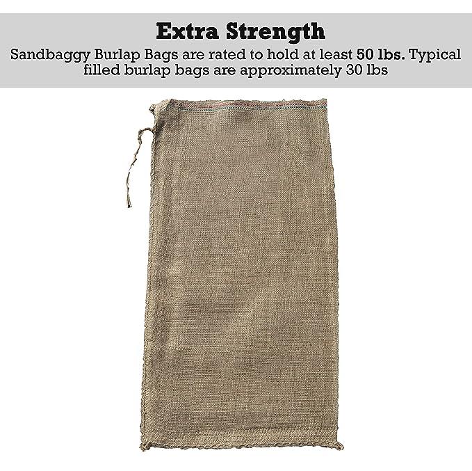 33331a18caf7 Sandbaggy Burlap Sand Bag - Size: 14