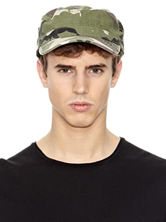 91608749d0b Tank Army Cap military look (One Size - camouflage)  Amazon.co.uk  Clothing