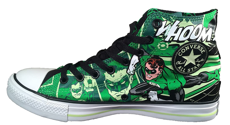 887b5136410d8d Amazon.com  Converse Green Lantern DC Comics Chuck Taylor Glow in The Dark  Sneakers (6)  Shoes