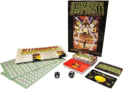 Illuminati: The Game of Conspiracy (Steve Jackson games): Jackson, Steve: Amazon.es: Juguetes y juegos