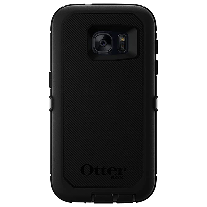 free shipping 5a639 3b008 OtterBox DEFENDER SERIES Case for Samsung Galaxy S7 - Retail Packaging -  BLACK