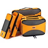PRO Packing Cubes | 6 Piece Travel Bags Organizer for Luggage | Multi-size Ultralight Travel Cubes | Suitcase Organizer…