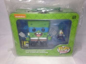 Amazon.com: 2014 SDCC Pop! Television: TMNT Spongebob ...
