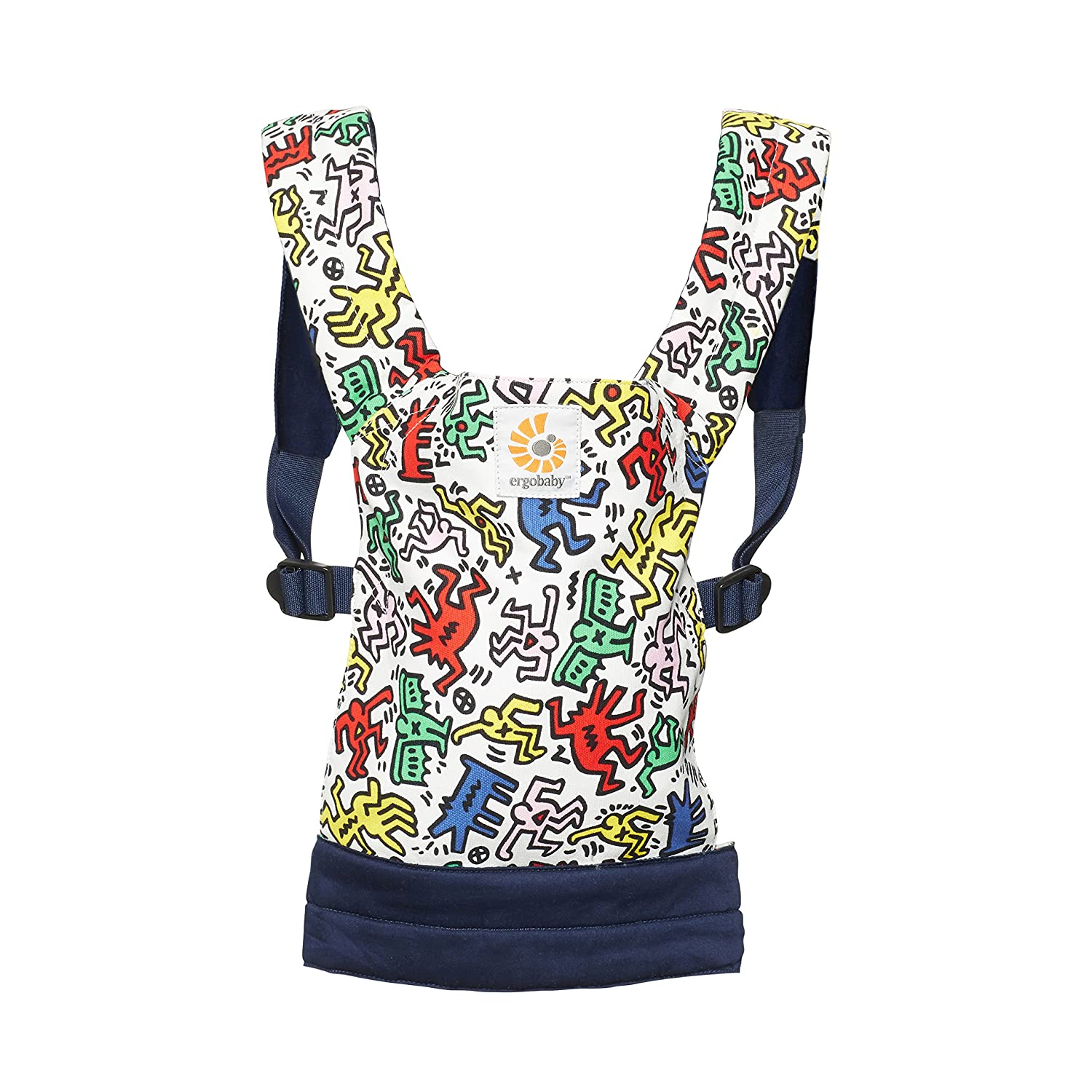 ERGObaby DCAKHWHT Puppentrage Special Edition KEITH HARING - POP, mehrfarbig ERGObaby Carrier GmbH