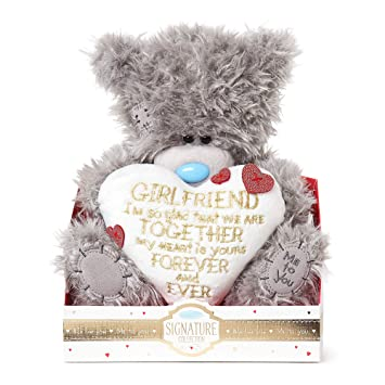 "ME TO YOU BEAR TATTY TEDDY 10/"" GORGEOUS GIRLFRIEND HEART VALENTINES GIFT"