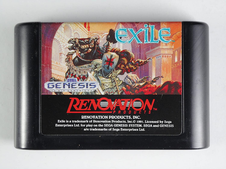 Exile - Sega Genesis