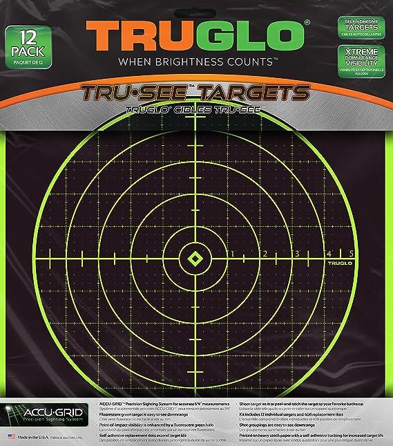 TRUGLO TRU-See - Meta para salpicadero reactivo de 100 m: Amazon.es: Deportes y aire libre