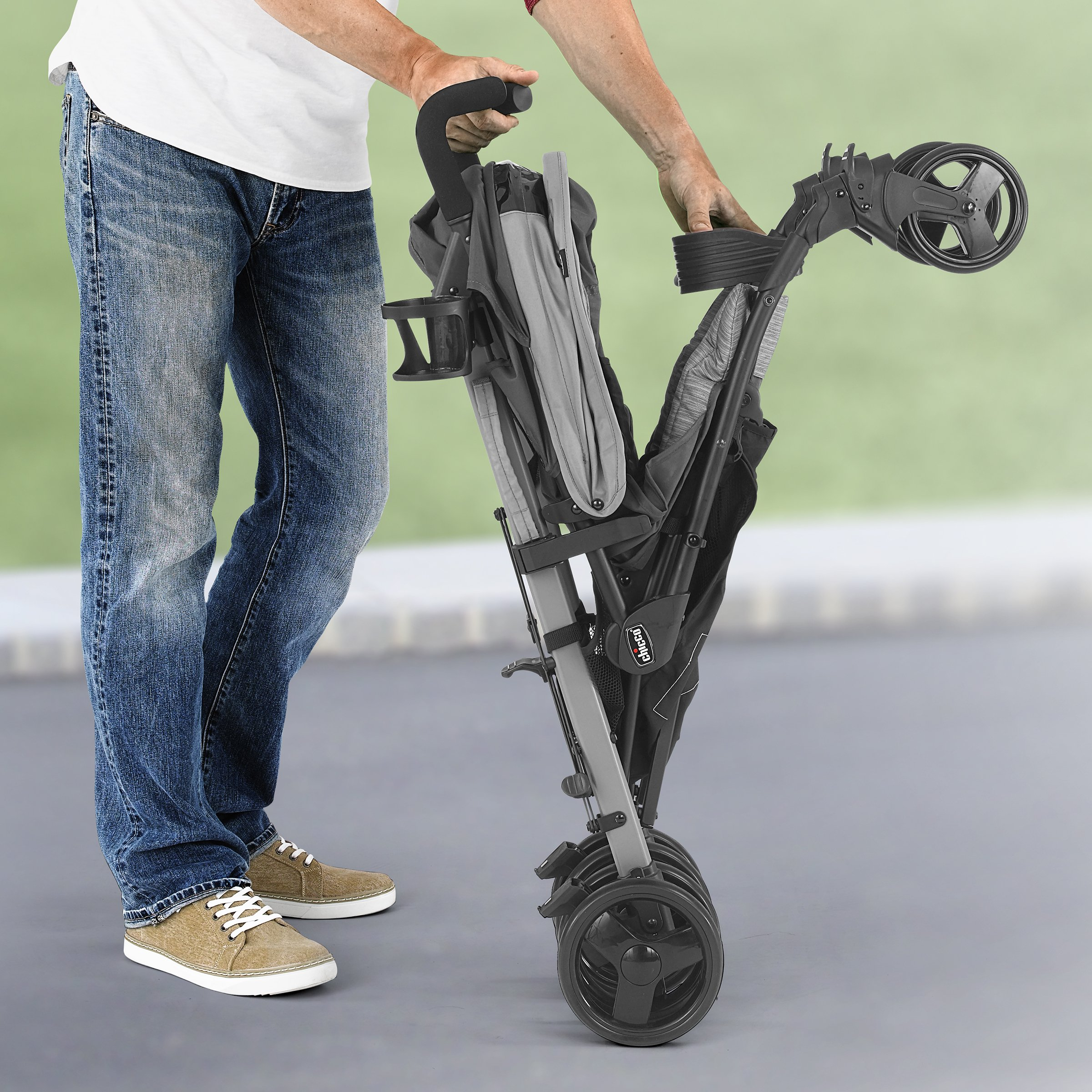 Chicco Liteway Stroller, Fog by Chicco (Image #3)