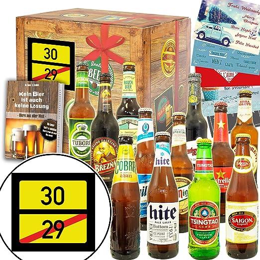 Ortsschild 30 Lustige Geschenke Manner 30 12 Biersorten Aus Der