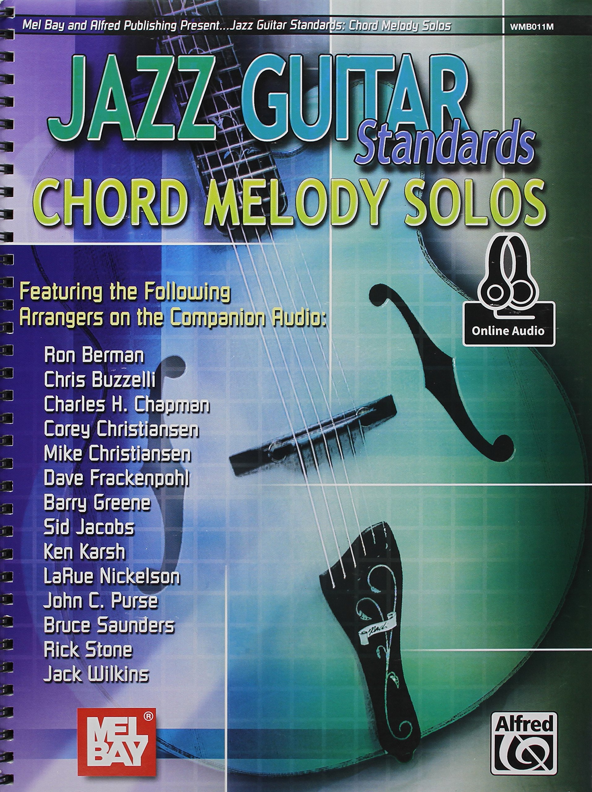 Jazz Guitar Standards Chord Melody Solos Multiple Authors