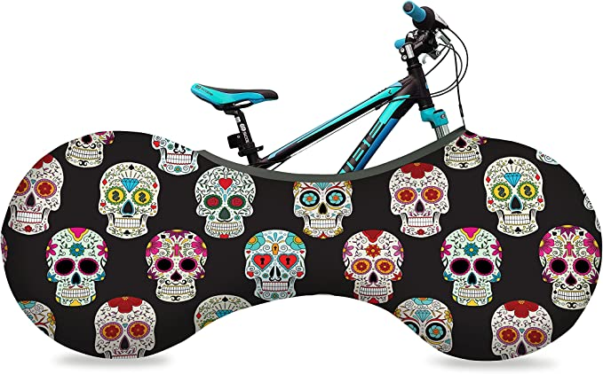 VELOSOCK Kids' Bicycle Indoor Storage Cover - Ronyblack - 8+ Years - Best Solution to Keep Floors and Walls Dirt-Free - Free USA Shipping
