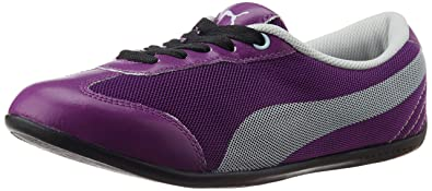puma karlie dp sneakers (grey purple)