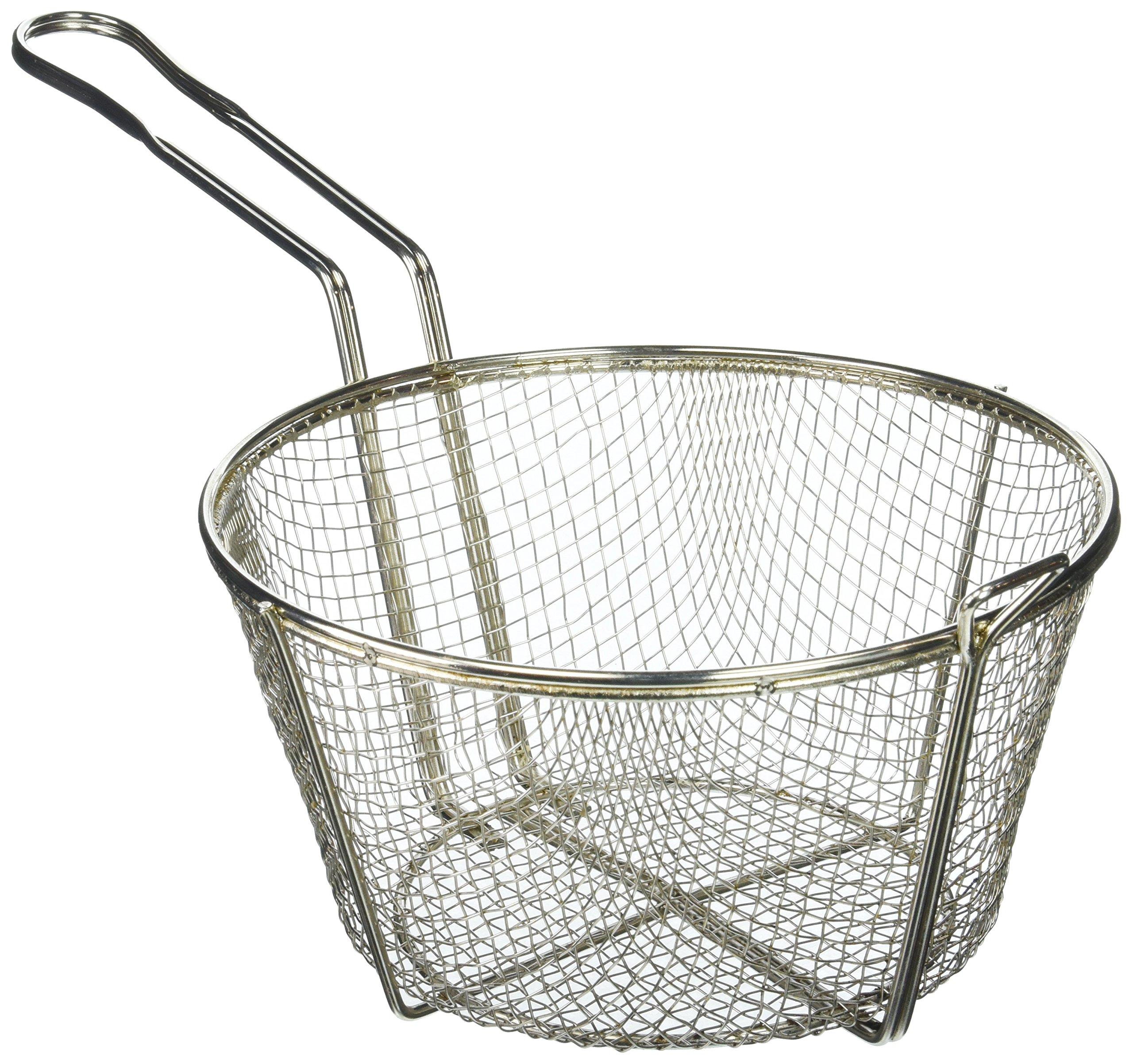 Winco FBR-9 Steel Round Wire Fry Basket, 9-Inch by Winco