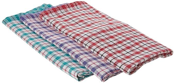 Fsmisc varios diseño de cuadros toallas de té de 430 x 680 mm (Pack de