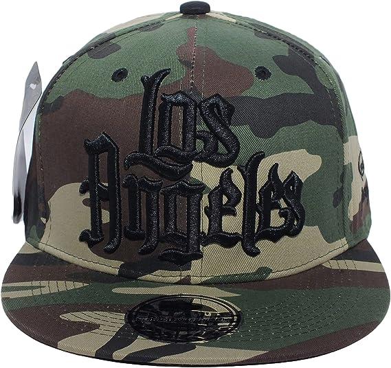 Los Angeles gorra de béisbol camuflaje gótica Hip Hop gorra militar sombrero del ejército: Amazon.es: Deportes y aire libre