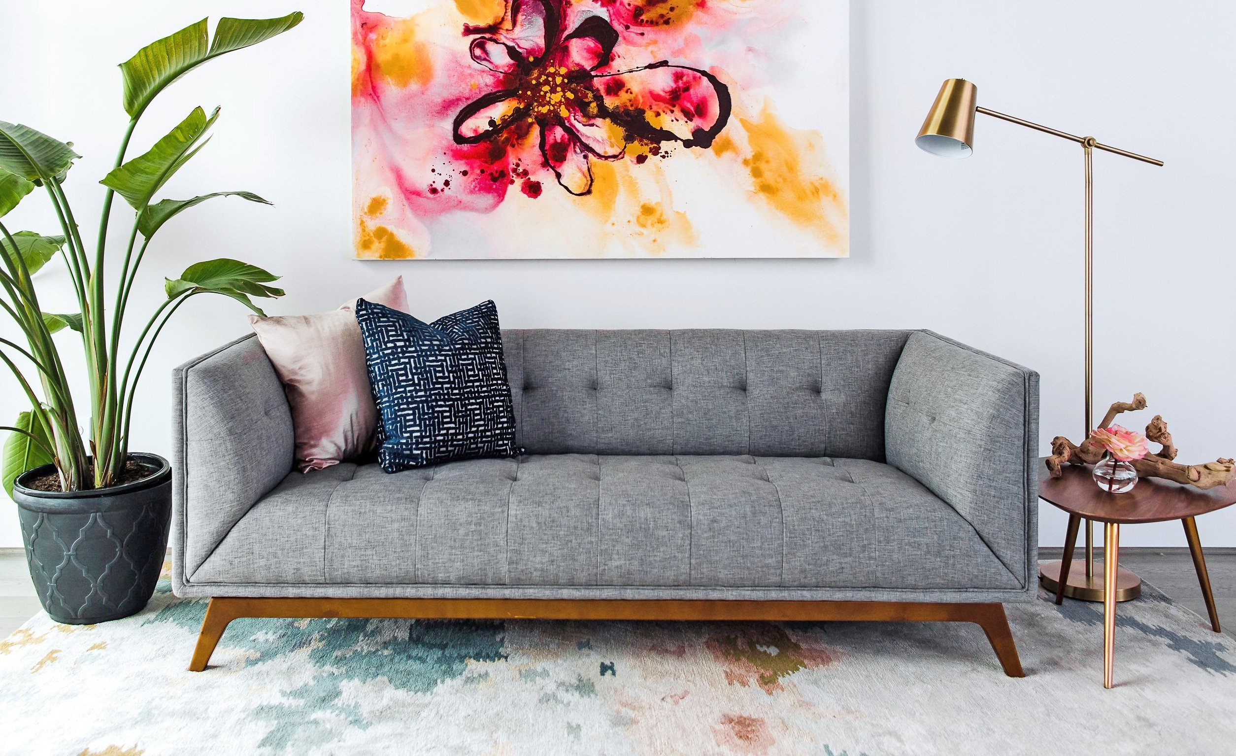 REGENT PARK Midcentury Modern Sofa Mid Century Sofas for