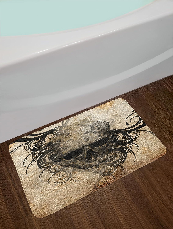 Amazon.com: Alfombrilla de baño Lunarable, hecha a mano, con ...