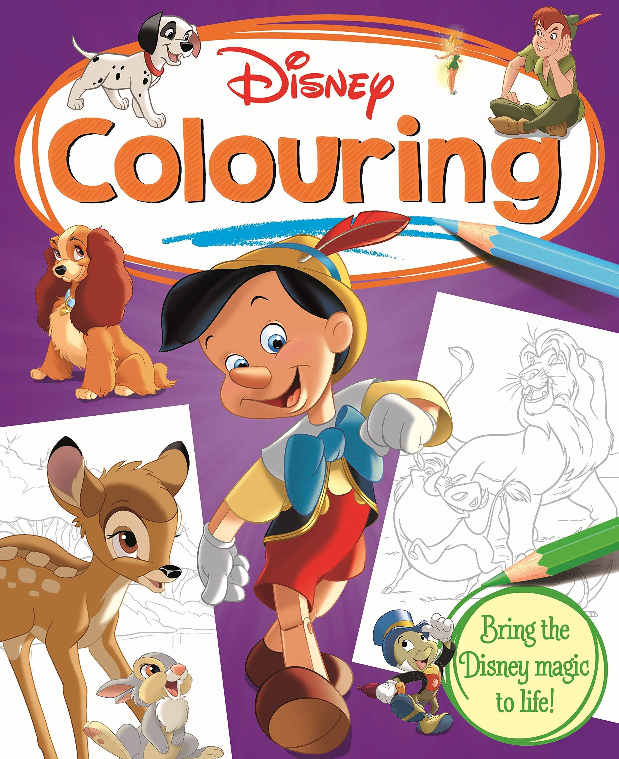 Classics Disney Colouring Book Simply Colouring Disney Amazon Co Uk Books