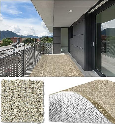 Koeckritz Rugs 12 x18 Weathered Teak Casual Boucle Level Loop 20 oz Olefin Indoor-Outdoor Area Rug Carpet