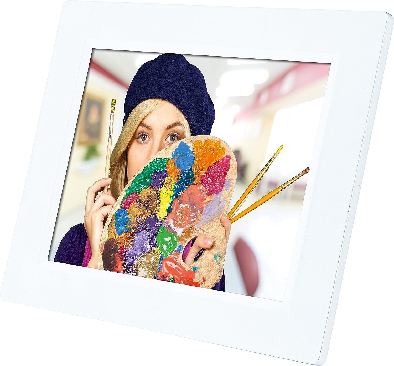 Rollei Degas DPF-850 - Marco de fotos digital multimedia con una pantalla TFT LED de 8